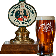 Photo of Timothy Taylor Landlord pumpclip and pint